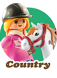 COUNTRY PLAYMOBIL
